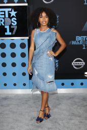 Yara Shahidi – BET Awards in Los Angeles 06/25/2017