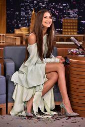 Zendaya Appeared on Tonight Show Starring Jimmy Fallon 06/20/2017
