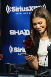 Zendaya - Celebrities Visit SiriusXM in New York 06/20/2017