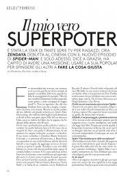 Zendaya - Grazia Magazine Italia N28, 06/29/2017