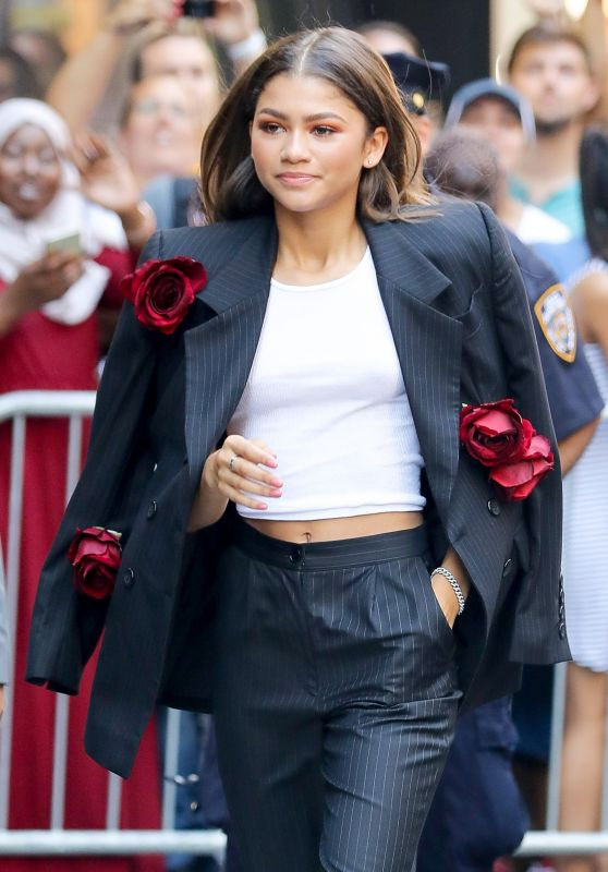 Zendaya - Leaving Good Morning America in NYC 06/20/2017