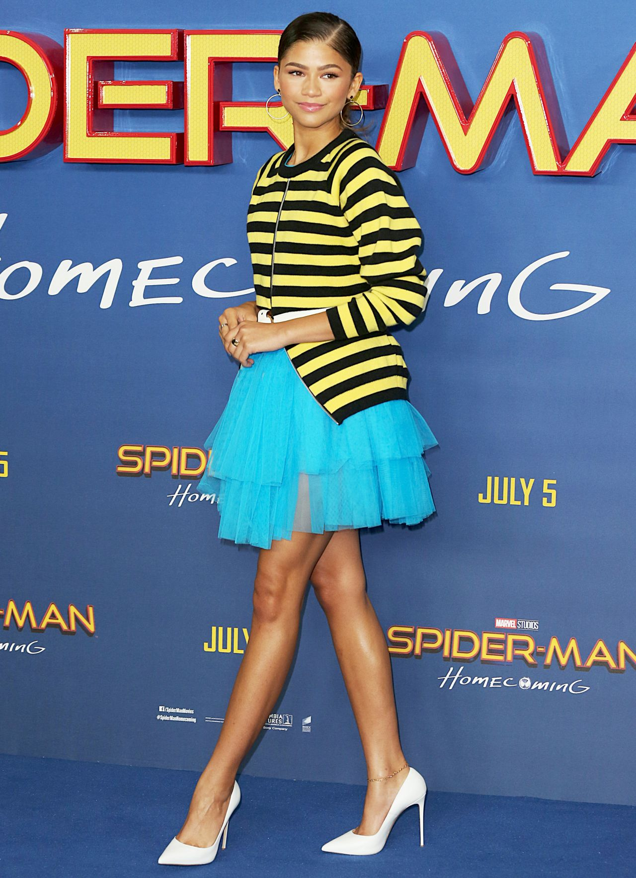 Zendaya Quot Spider Man Homecoming Quot Movie Photocall In