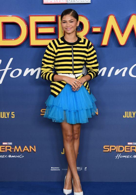 """Zendaya - """"Spider-Man: Homecoming"""" Movie Photocall in London, UK 06/15/2017"""