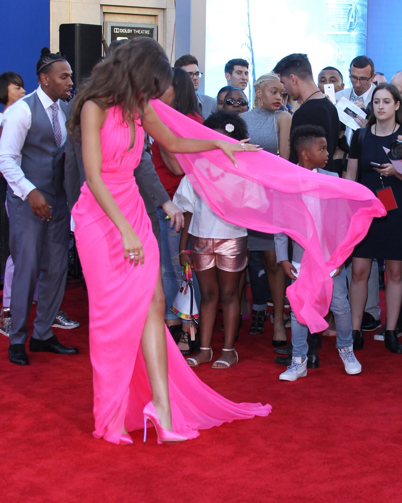 Zendaya Spider Man Homecoming Premiere In Hollywood