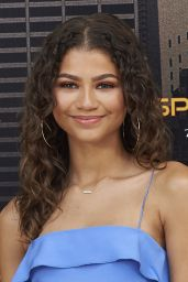 Zendaya - Spider-Man: Homecoming Presentation in Madrid, Spain 06/14/2017