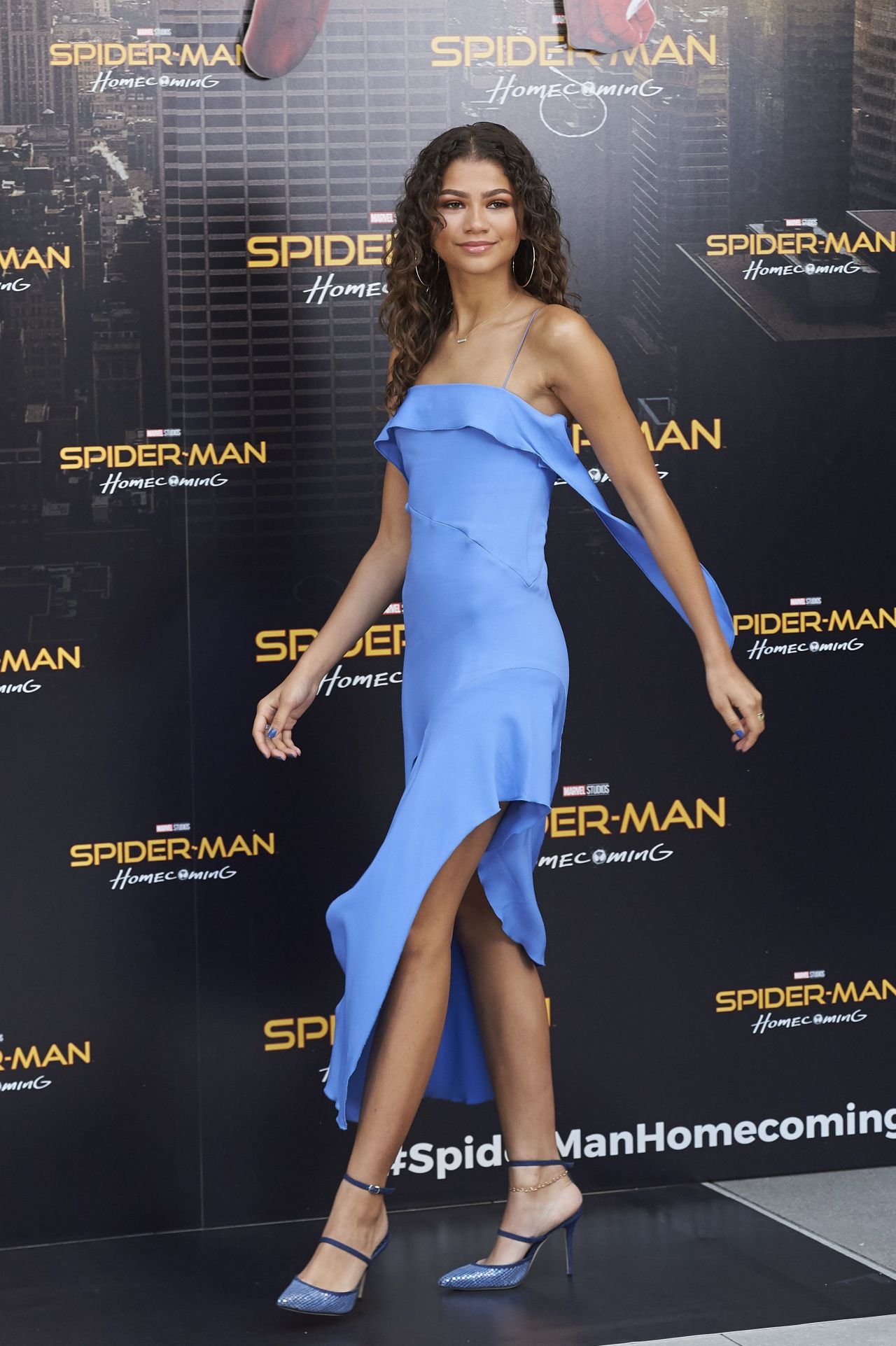 Zendaya Spider Man Homecoming Presentation In Madrid