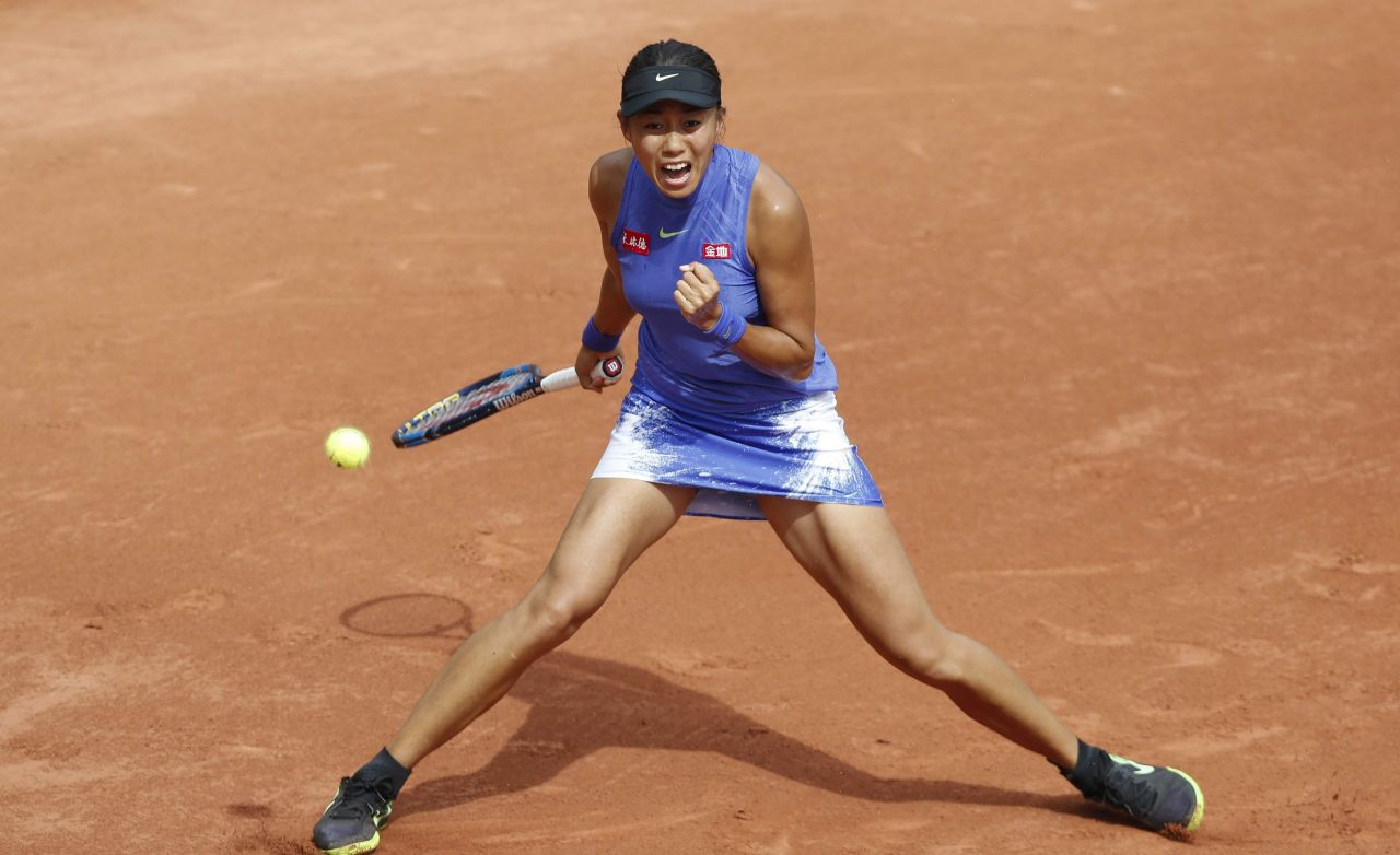 Zhang shuai french open tennis tournament in roland garros paris - 2019 year