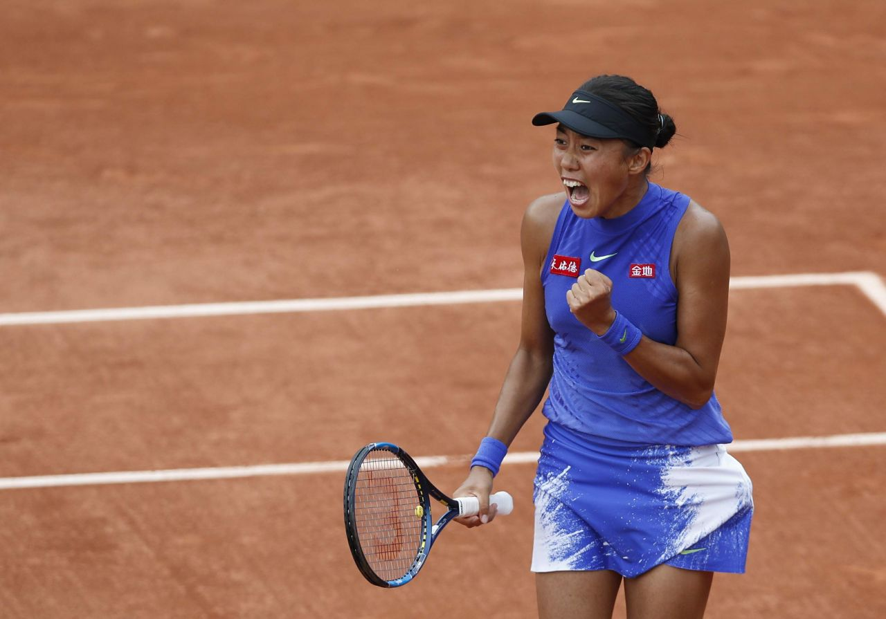 Watch Zhang shuai french open tennis tournament in roland garros paris video