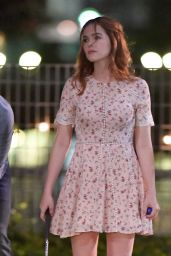 """Zoey Deutch - Playing Miniature Golf on Set of """"Set it Up"""" in NYC  06/15/2017"""