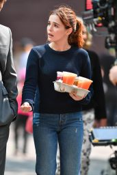 "Zoey Deutch - ""Set It Up"" Set in New York City 06/15/2017"