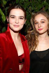 Zoey Deutch – Women In Film Max Mara Face of the Future Awards in LA 06/12/2017
