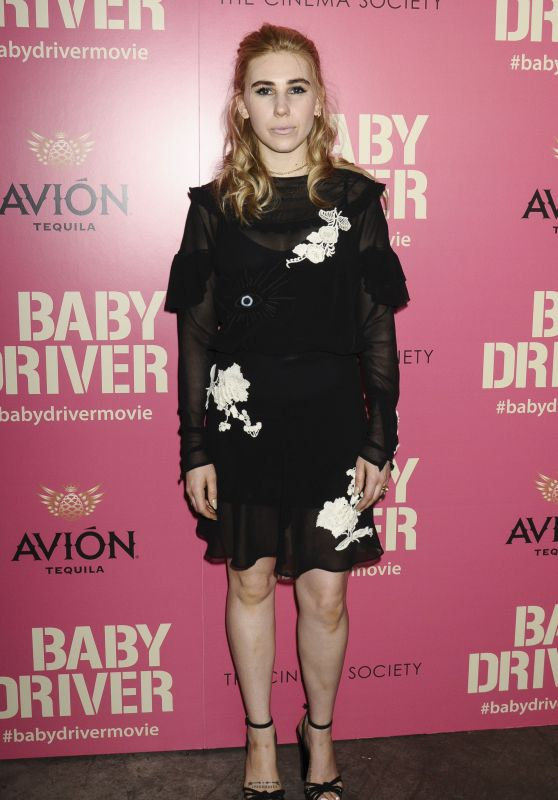 "Zosia Mamet – ""Baby Driver"" Premiere in New York 06/26/2017"
