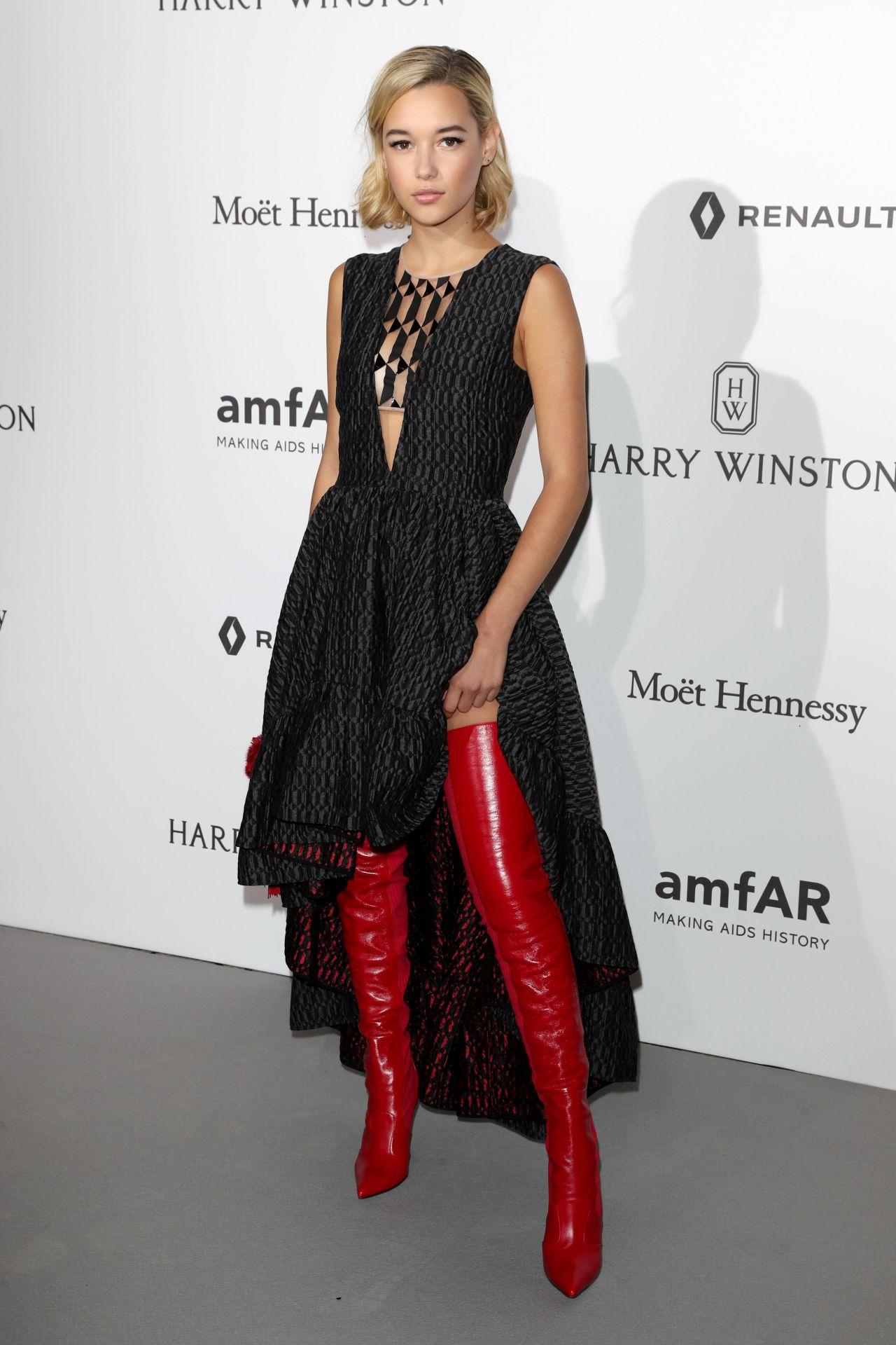 Sarah Snyder at amfAR Gala – Haute Couture Fashion Week in ...