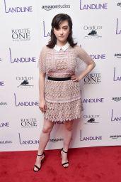 """Abby Quinn - """"Landline"""" Movie Premiere in New York 07/18/2017"""