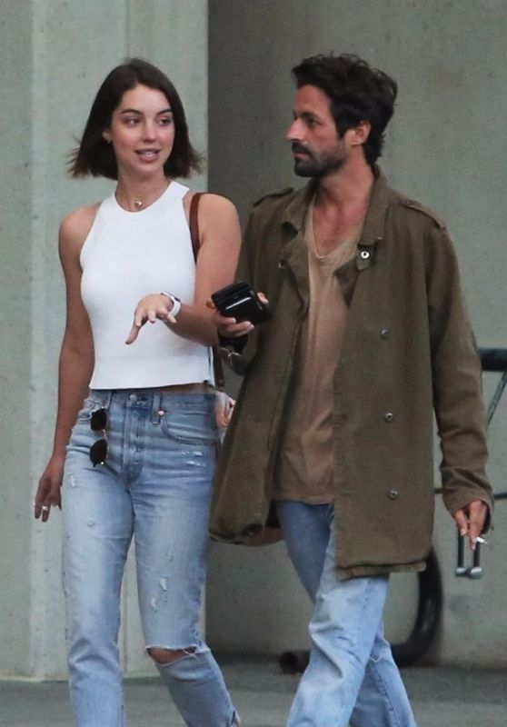 Adelaide Kane - Leaving Dinner With Her Boyfriend in Vancouver 07/13/2017