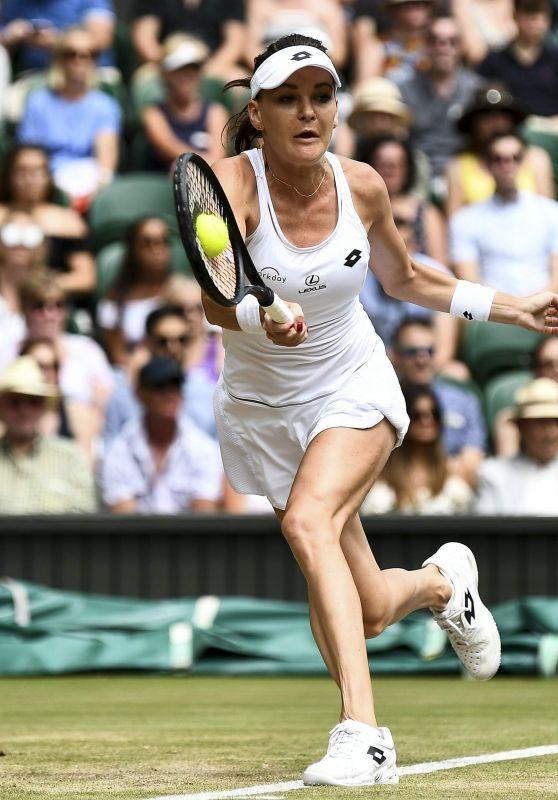 Agnieszka Radwanska – Wimbledon Championships in London 07/08/2017