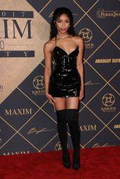 Aijona Alexus – Maxim Hot 100 Party in Los Angeles 06/24/2017
