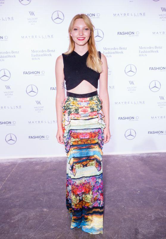 Ajsa Selimovic at Rebekka Ruetz Show – Mercedes-Benz Fashion Week in Berlin 07/05/2017