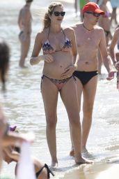 Alessandra Ambrosio and Ana Beatriz Barros Bikini Candids - Mykonos, Greece 07/01/2017