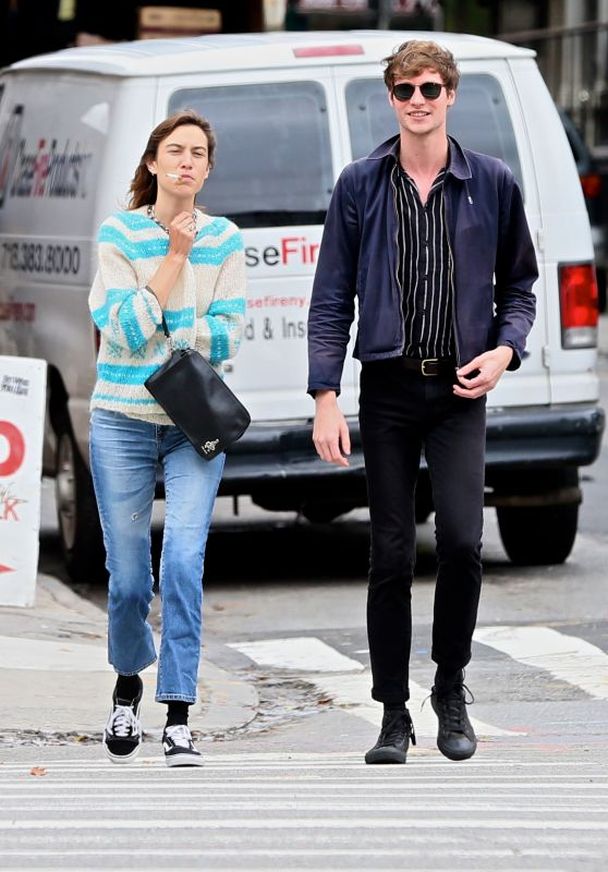 Alexa Chung - Out in New York City 07/25/2017