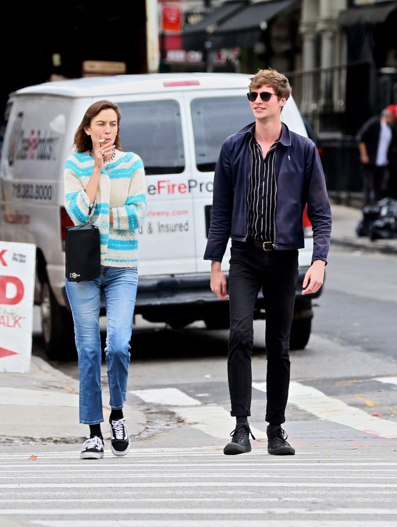 Alexa Chung Out In New York City 07 25 2017