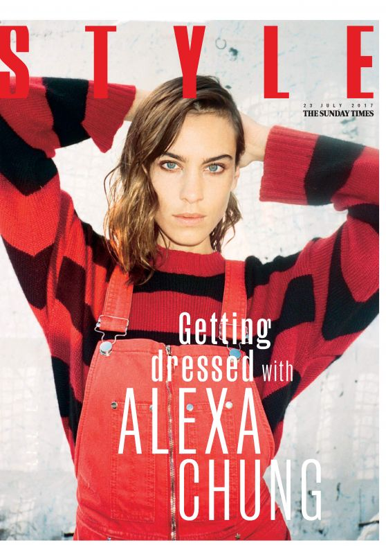 Alexa Chung - The Sunday Times Style July 2017 Issue