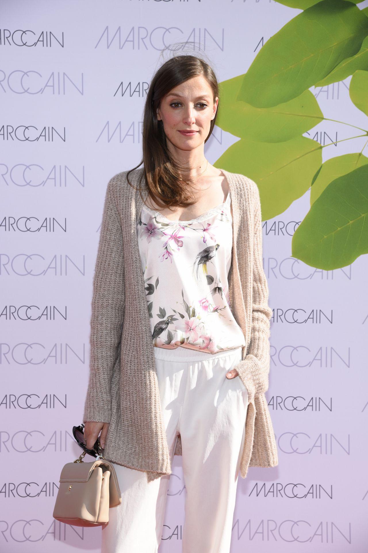 Alexandra Maria Lara At Riani Show Mercedes Benz Fashion Week
