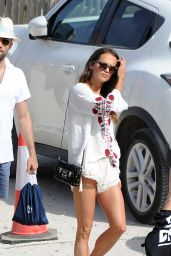Alicia Vikander and Jon Kortajarena on the Beach in Ibiza 07/13/2017