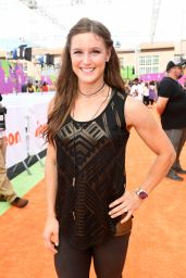 Alise Post – Nickelodeon Kids' Choice Sports Awards in Los Angeles 07/13/2017