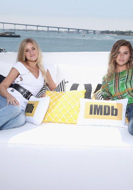 Aly Michalka & Amanda AJ Michalka – #IMDboat At San Diego Comic-Con 07/20/2017