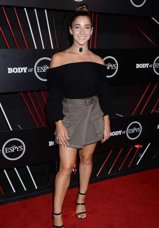 Aly Raisman – BODY at ESPYS Party in Los Angeles 07/11/2017