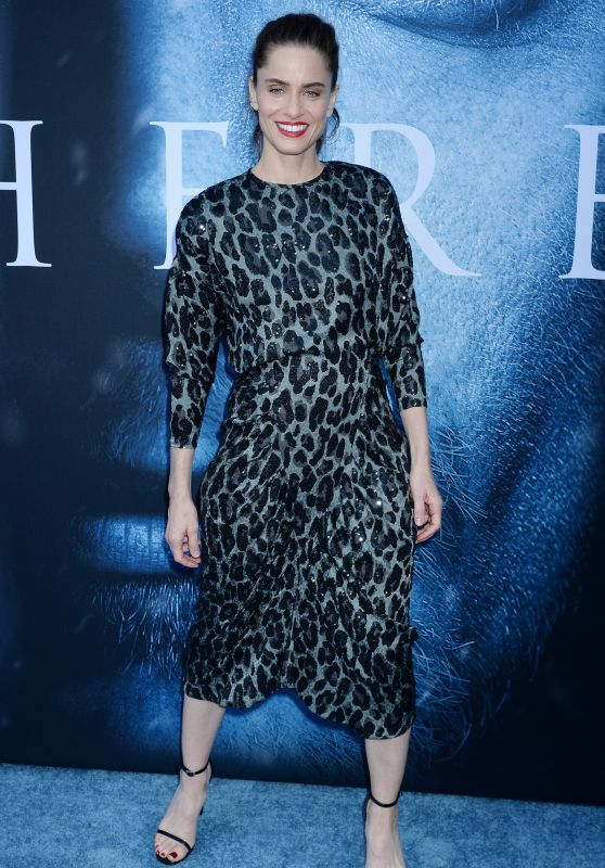 "Amanda Peet – ""Game Of Thrones"" Season 7 Premiere in Los Angeles 07/12/2017"