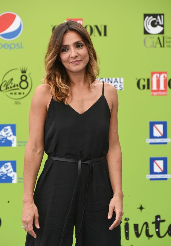 Ambra Angiolini - Giffoni Film Festival in Giffoni Valle Piana, Italy 07/21/2017