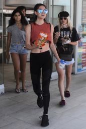 Amelia Gray Hamlin in Leggings and a Calvin Klein Sports Bra - Beverly Hills 07/12/2017