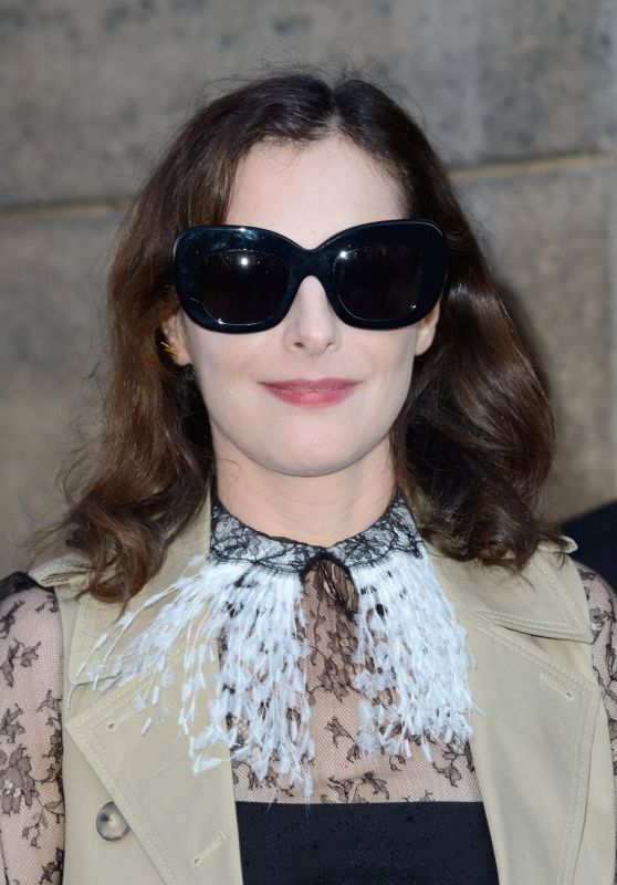 Amira Casar at Christian Dior Show – Fall Winter 2017 in Paris 07/03/2017