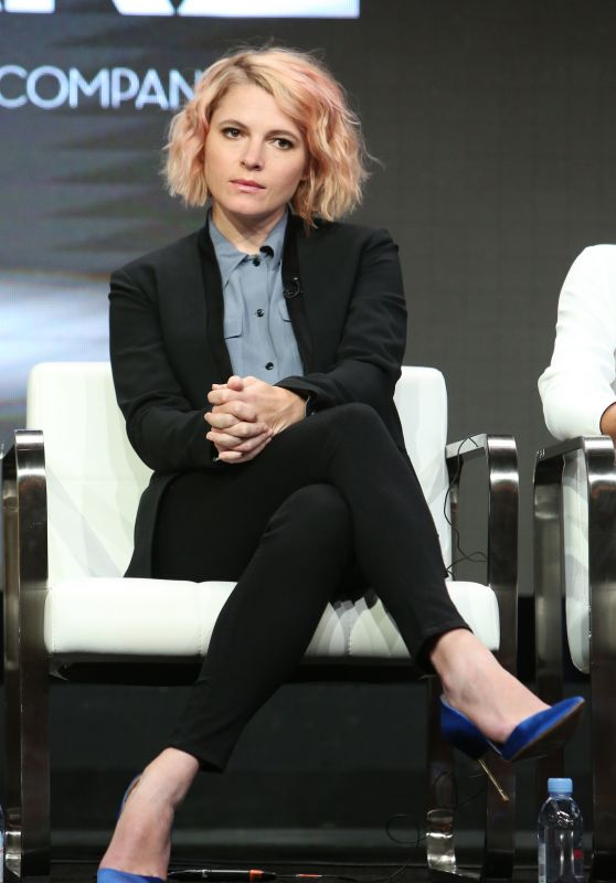 "Amy Seimetz – Starz ""The Girlfriend Experience"" TV Show Panel at TCA Summer Press Tour in LA 07/28/2017"