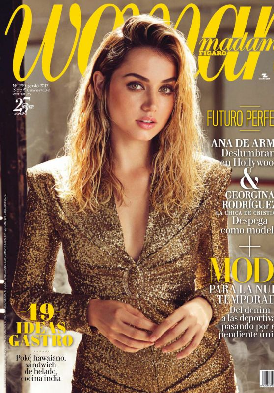 Ana de Armas - Woman Madame Figaro August 2017 Issue