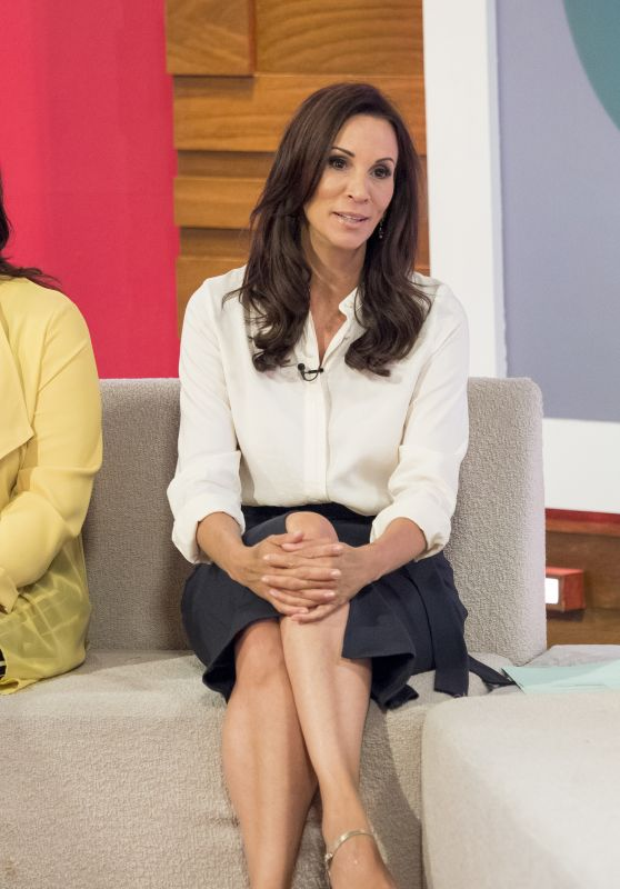 Andrea McLean - Loose Women TV Show in London 07/10/2017