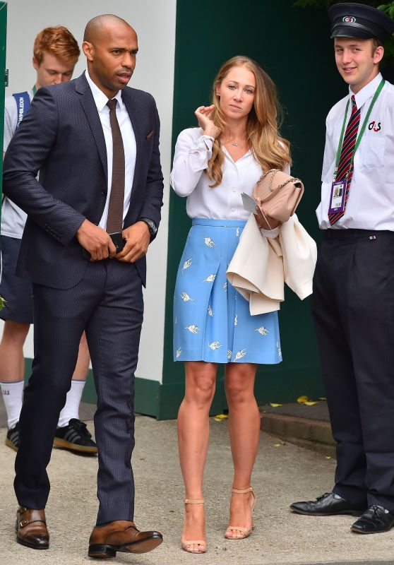 Andrea Rajacic – Wimbledon Championships in London Finals 07/16/2017