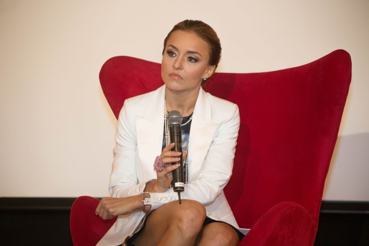 Angelique Boyer angelique boyer - press conference at the sbt headquarters
