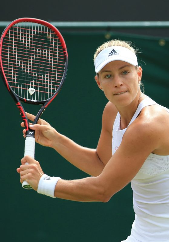 Angelique Kerber – Wimbledon Championships in London 07/08/2017