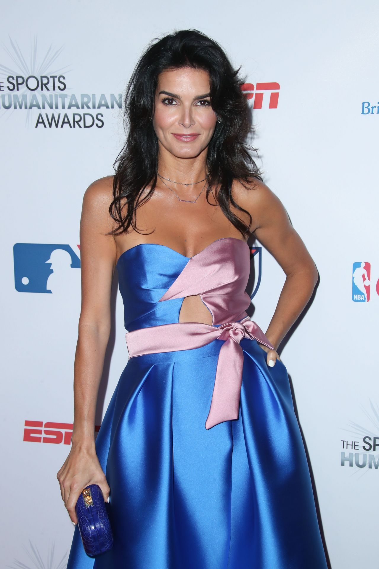 Angie Harmon At More Magazine September 2013: Sports Humanitarian Of The Year Award In