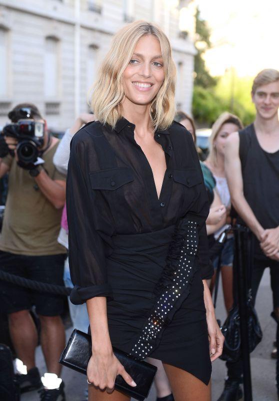 Anja Rubik – Vogue Party at Paris Fashion Week 07/04/2017