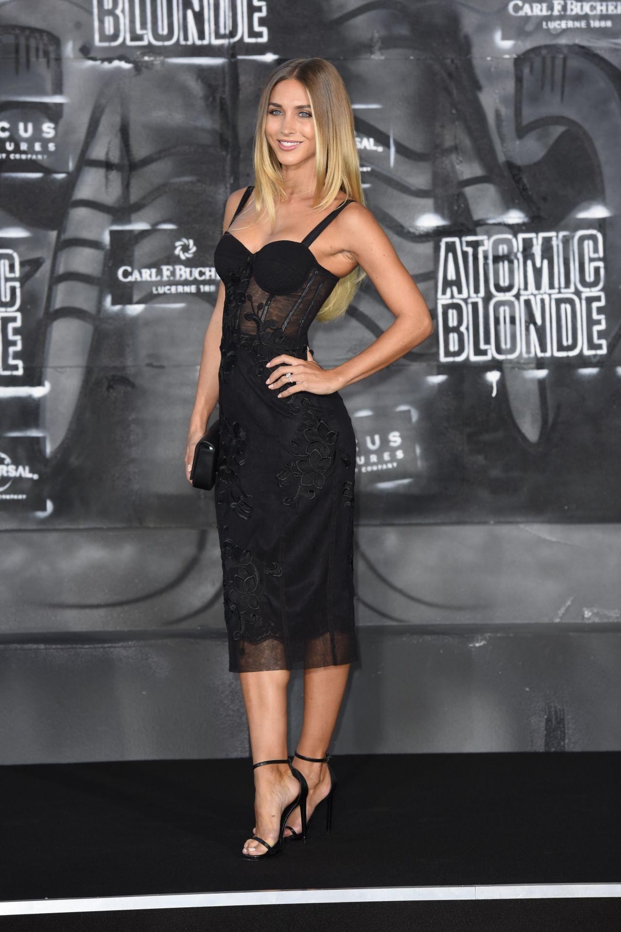 Ann Kathrin Br 246 Mmel Atomic Blonde Premiere In Berlin