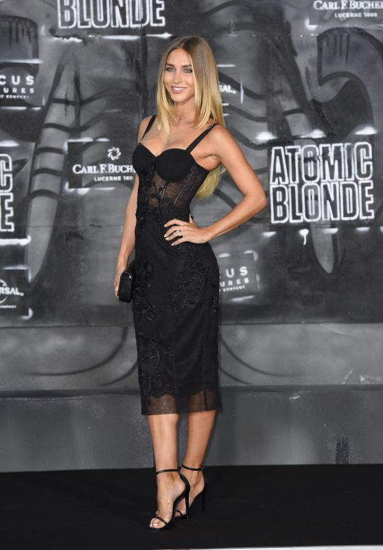 "Ann-Kathrin Brömmel – ""Atomic Blonde"" Premiere in Berlin 07/17/2017"