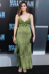 """Anna Wood – """"Valerian and the City of a Thousand Planets"""" Premiere in Hollywood 07/17/2017"""