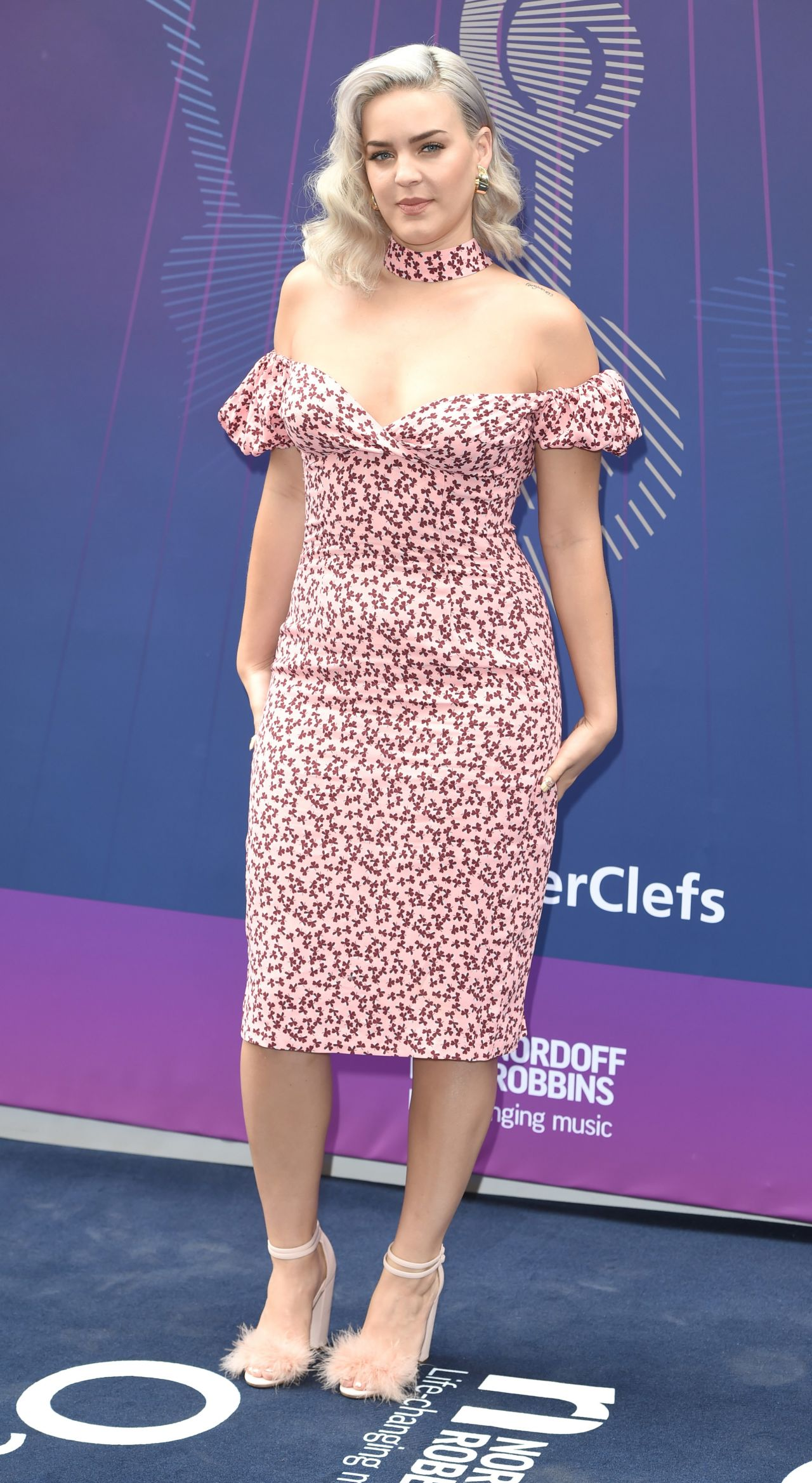 Anne Marie Nordoff Robbins O2 Silver Clef Awards In