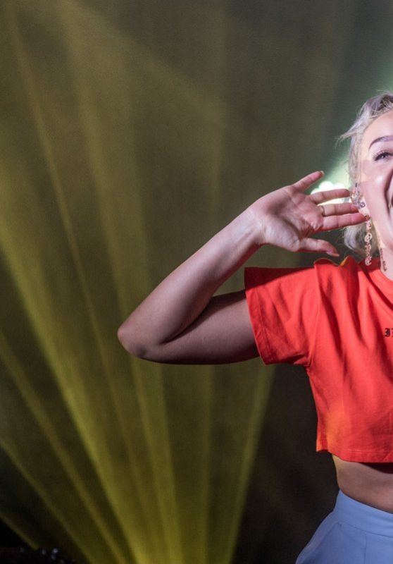 Anne-Marie - Performing at Camp Bestival in Dorset, UK 07/30/2017