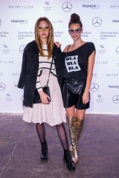Anne Wilken and Betty Taube - Rebekka Ruetz Show – Mercedes-Benz Fashion Week in Berlin 07/05/2017