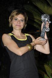 Antonia Truppo at Gala Dinner Vila Costa in Ischia, Italy 07/15/2017